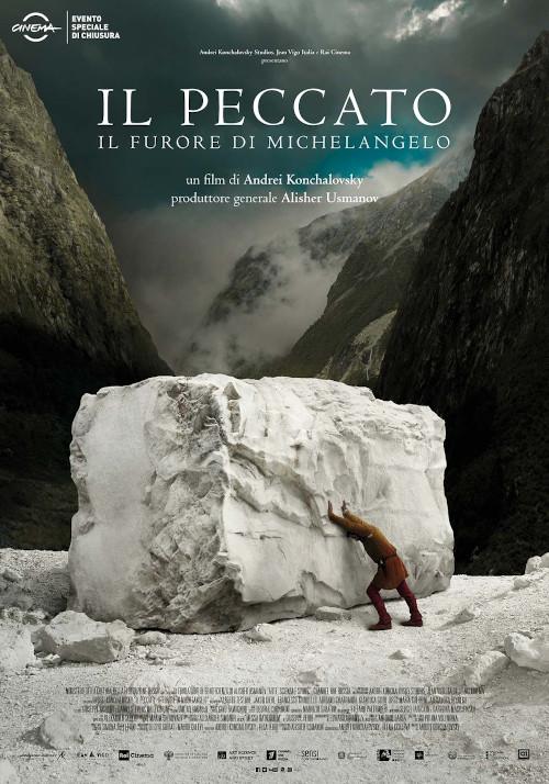 Locandina IL PECCATO – Il furore di Michelangelo